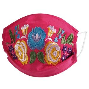 Face Mask Mexican Embroidered